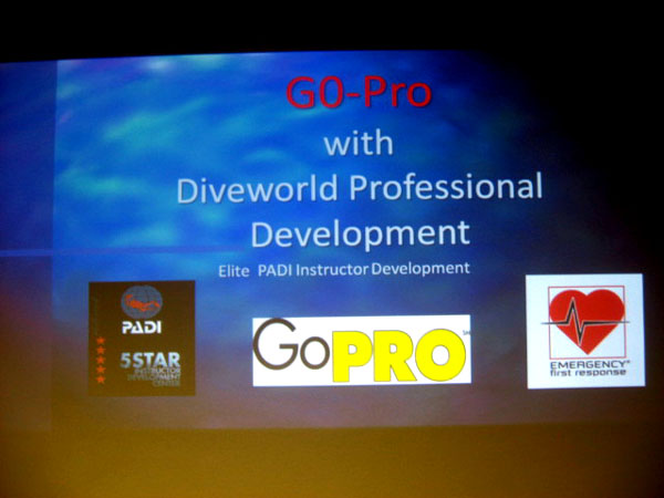 A Superb Padi Pro-night With Diveworld